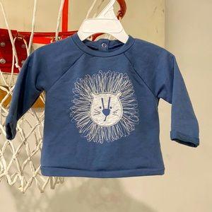 Jumping Bean Terrycloth Lion Shirt